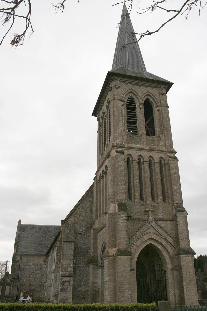 Annebault - Église Saint-Remy 01.JPG