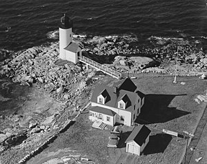 National Register of Historic Places listings in Gloucester, Massachusetts - Image: Annisquam Harbor Lighthouse Massachusetts USA