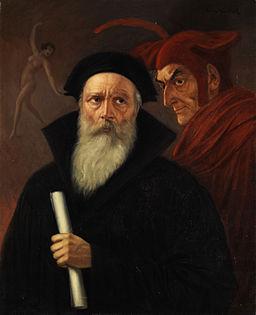 Anton Kaulbach Faust und Mephisto