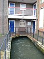 Apartments with running water, Fordington, Dorchester - geograph.org.uk - 661458.jpg