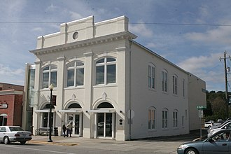 National Register of Historic Places listings in Wake County, North Carolina - Image: Apex NC Town Hall (historic)