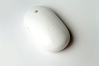 Apple Mighty Mouse first multi-button computer mouse produced by Apple Inc