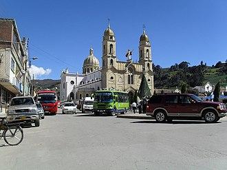 Aquitania, Boyacá - Central square