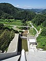 Araki River from Nyukawa Dam.jpg