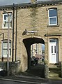 Archway to George Terrace, George Street, Rastrick - geograph.org.uk - 1567438.jpg