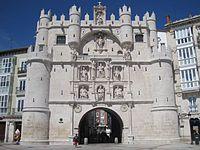 Arco de Santa María Frontal