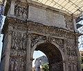 Arco di Traiano con copertura provvisoria.jpg