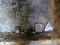 Argokiliotissa Chapel with cave, interior 13M340.jpg