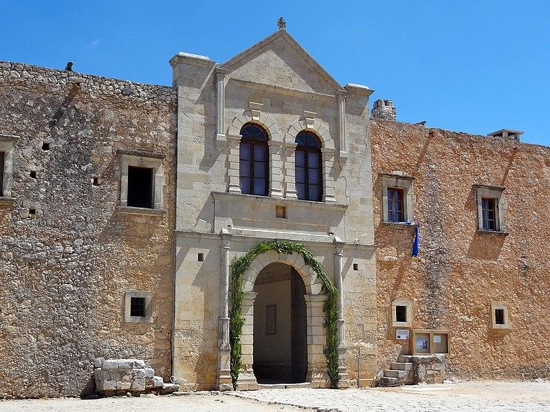 Arkadi Kloster Westtor 01.jpg