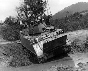 Battle of Ap Bac - M113 Armored Cavalry Assault Vehicle in Vietnam, 1966