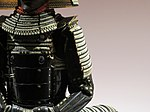 Armour of Hachisuka clan - left side.jpg
