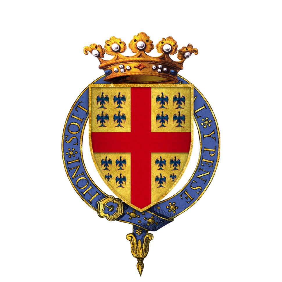 Arms of Anne de Montmorency, Duc de Montmorency, KG