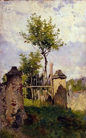 Achille Formis - Paesaggio, 1890 ca. (Fondazione Cariplo)