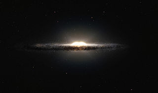 Galactic bulge Tightly packed group of stars within a larger formation