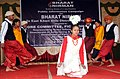 Artistes of the Song & Drama Division presenting Modern Khasi Dance, at the Public Information Campaign on Bharat Nirman, organized by Press Information Bureau, Shillong at Mawphlang, East Khasi Hill District of Meghalaya.jpg