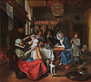As the old sing, so twitter the young, by Jan Steen.jpg