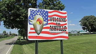 Ashville, Ohio - Image: Ashville OH1