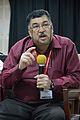 Ashwin Baindur - Open Discussion - Collaboration among Indic Language Communities - Bengali Wikipedia 10th Anniversary Celebration - Jadavpur University - Kolkata 2015-01-10 3213.JPG