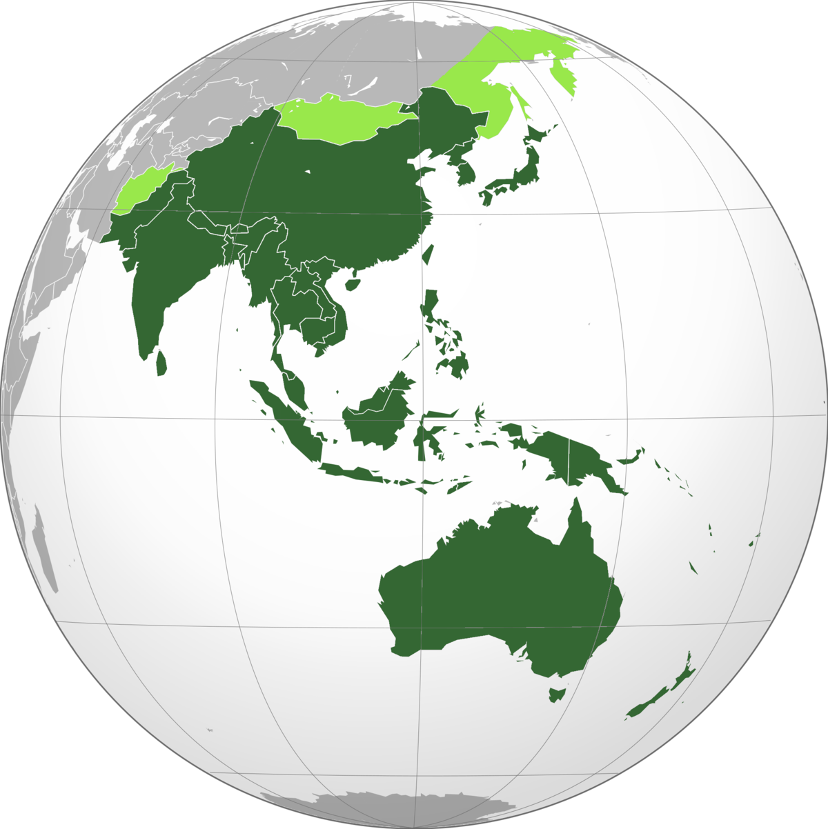AsiaPacific Wikipedia - Asia pacific map with country names