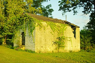 National Register of Historic Places listings in Franklin County, Tennessee - Image: Asia School tn 1
