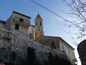 Aspremont, Alpes-Maritimes - Church of Saint-Jacques le Mejeur