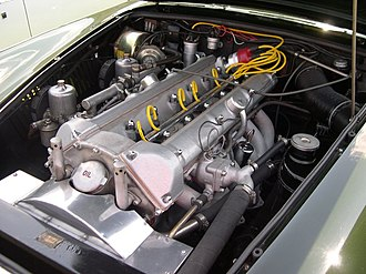 Tadek Marek - Tadek Marek designed the 3.7-litre 6-cylinder engine, here shown in an Aston Martin DB4.