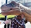 Atrakcja Muzeum Ewolucji - dinozaur. Centrum Nauki Kopernik Piknik Naukowy 2019 04.jpg