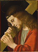 Attributed to Marco d' Oggiono - Christ Carrying the Cross - 85.PB.412 - J. Paul Getty Museum.jpg