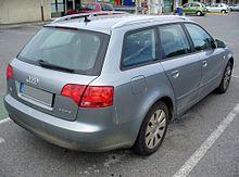 Audi A4 B7 Avant 2.0 TDI Heck.JPG