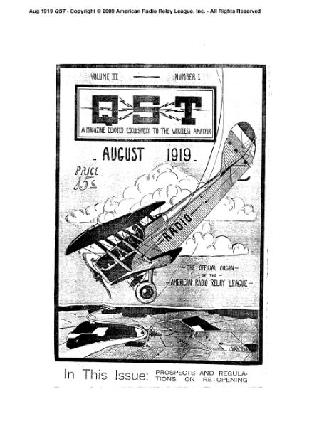 File:August 1919 QST.djvu