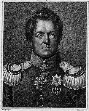 Belgern-Schildau - August von Gneisenau
