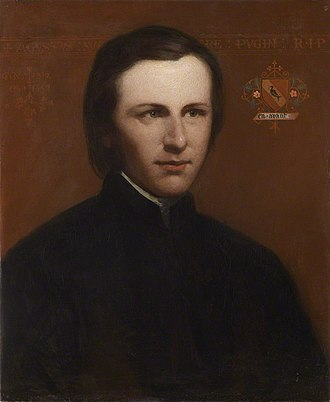 Augustus Pugin - Image: Augustus Welby Northmore Pugin from NPG