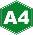 Autopista A4 sign (Cuba).png