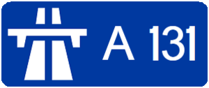 A131 autoroute - Image: Autoroute A131