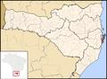 Avaí Santa Catarina Map.png