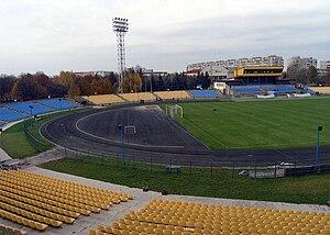 Avanhard Stadium (Lutsk) - Image: Avangard Stadium, Lutsk 1