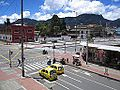 Avenida Jiménez con carrera 20, estación de La Sabana.JPG