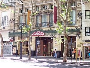 Café Tortoni - Image: Avenida de Mayo Café Tortoni