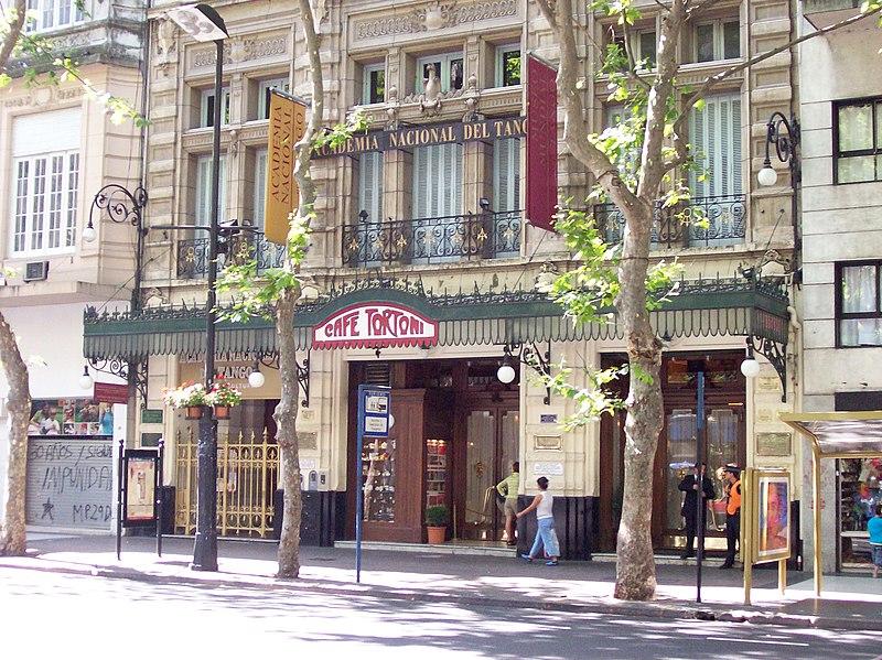 File:Avenida de Mayo Café Tortoni.jpg