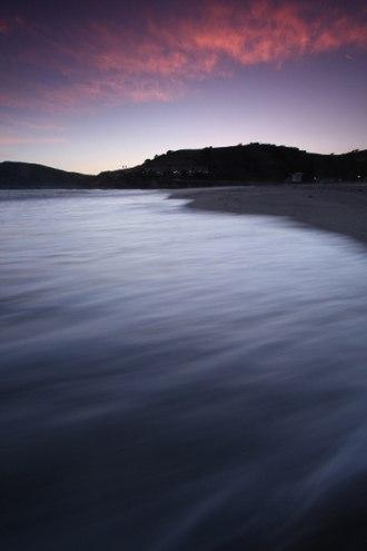 Avila Beach, California - Sunset over Avila Beach, May 2010