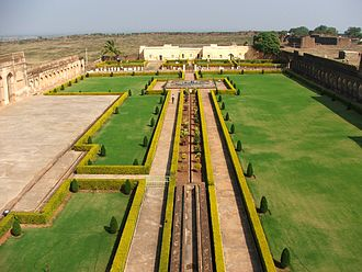 Bidar Sultanate - Image: BIADR FORT (inside view garden)