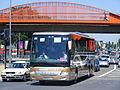 BK10 EJJ Setra S416 GT HD, Shearings grand tourer, Wigan. Olympic games transport (7636966360).jpg