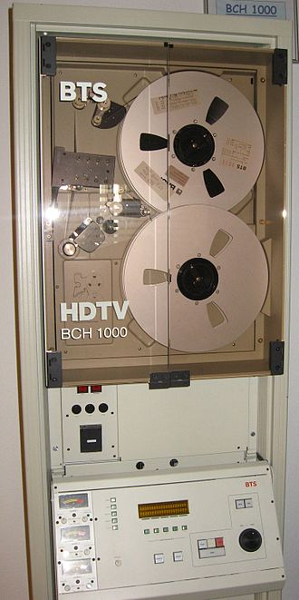 Broadcast Television Systems Inc. - Image: BNC HDTV VTR type B deck