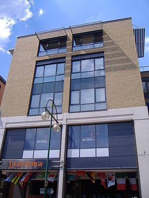 Orion Media - Orion Media headquarters on Broad Street, Birmingham