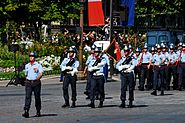 BSPP flag Bastille Day 2008