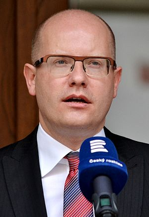 Czech Social Democratic Party leadership election, 2011 - Image: B Sobotka 2015 Praha