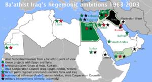 Baathist Iraqs goal