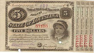 Bearer bond - A 19th-century bearer bond