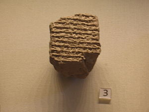 Babylonian astronomical diaries - An astronomical diary recording the death of Alexander the Great (British Museum)