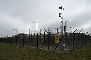 Bacton Gas Terminal - CCTV and protective perimeter fence